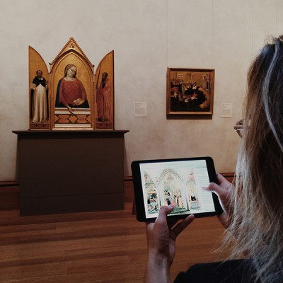 iPad in Gallery